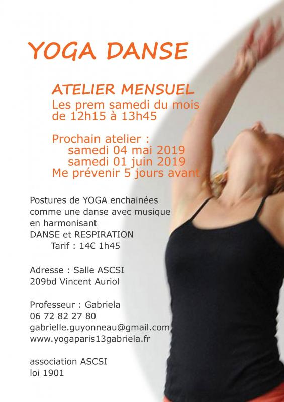 Atelier mensuel yoga danse 15 04 19 new